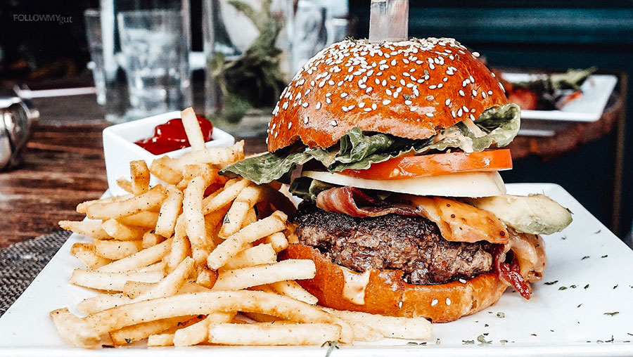 Burgers and Fries by WeHo Bistro West Hollywood